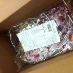 Lollipops from a fan -- how cool is that?